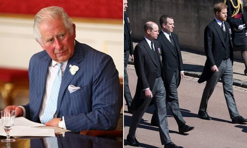 """Prince Charles reportedly """"shellshocked"""" by William and Harry's rift"""