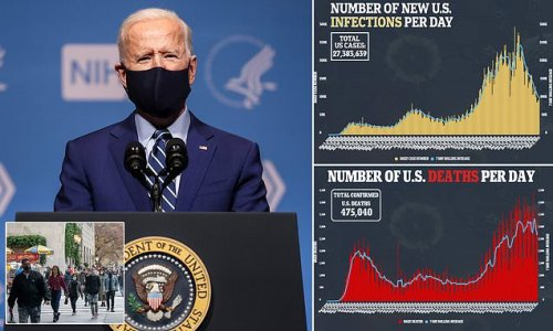 Biden suggests Americans will have to wear face masks NEXT YEAR