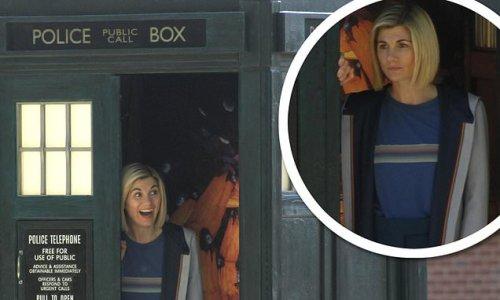 Dr Who's Jodie Whittaker mans the T.A.R.D.I.S for her final instalment