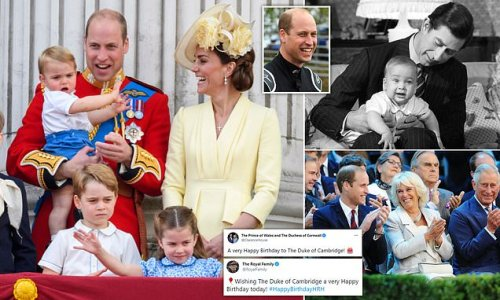 Happy birthday Prince William! Queen royal well-wishes to her grandson