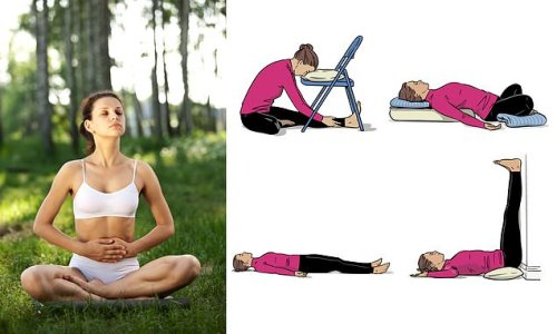 Four stretches that make everyone sleepy: Experts prescribe this cure