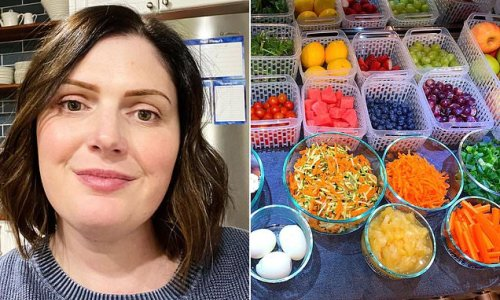 Organised mum shares meal prepping system to make cooking a breeze