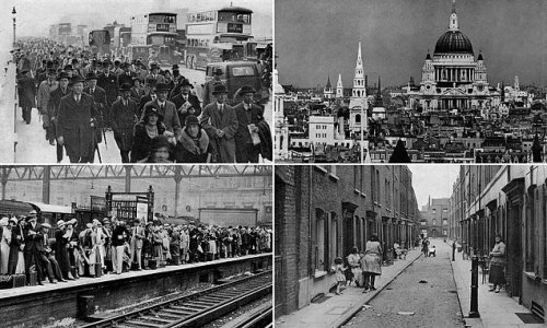 Remarkable book documents London between the wars