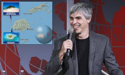 Google co-founder Larry Page 'has been living off the grid in Fiji'