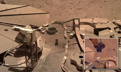 NASA's Insight Mars lander is not getting power due to dust on arrays