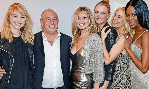 Sir Philip Green handed £50m after warehouse sale