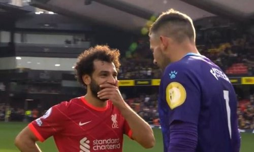 Foster reveals Salah asked him which way he'd dive for his penalties