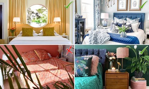 The top three bedroom colours that promote 'peaceful' sleeping