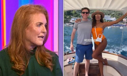 Sarah Ferguson defends 'superhero' son-in-law Jack Brooksbank