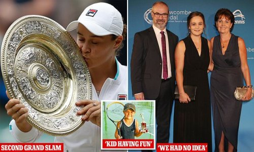 Ash Barty's parents had no idea their daughter would win Wimbledon