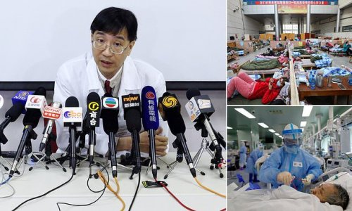 Chinese doctor says officials covered up the scale of the outbreak