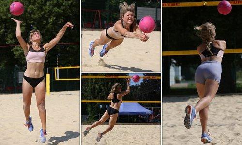 Are women's skimpy beach volleyball bikini bottoms comfy?