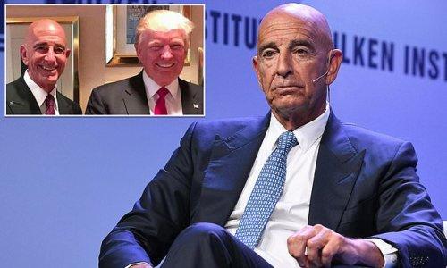 Trump's billionaire ally Tom Barrack released on $250M bond