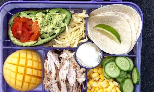 Couple told by teacher to tone down their daughter's elaborate lunches