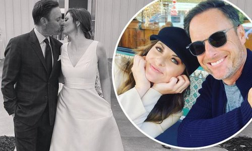 Chris Harrison shoots down marriage rumors after sharing wedding snap