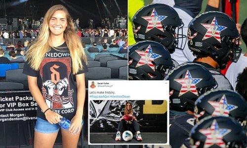 Vanderbilt soccer star Sarah Fuller will kick for Commodores football