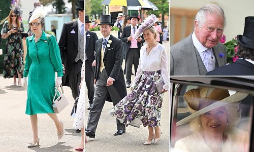 Royal Ascot: Sophie Wessex leads Royal Family arrivals