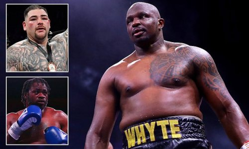 Dillian Whyte will NOT be taking on Andy Ruiz Jr in August