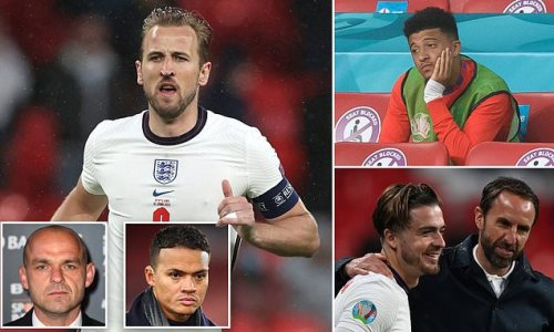 JERMAINE JENAS and DANNY MURPHY try to fix England's Euro 2020 issues
