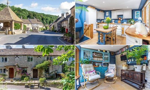 Three-bed 18th Century cottage goes on the market for £675,000