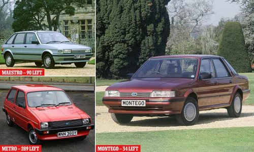 Austin Montego, Maestro and Metro are on the brink of extinction