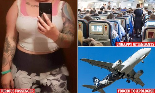 Air New Zealand apologise to a woman after staff told her to cover up