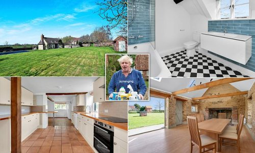 Boris Johnson puts cottage on the rental market for £4,250 a month