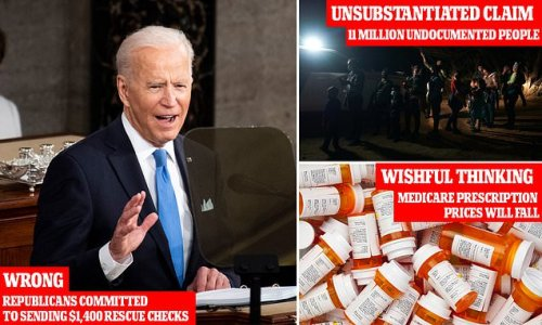 From immigration to Medicare, President Biden's speech fact checked