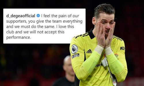 De Gea slams his Man United team-mates for 'playing like KIDS'