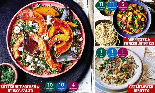 The meat-free dishes that could help you slim down after lockdown