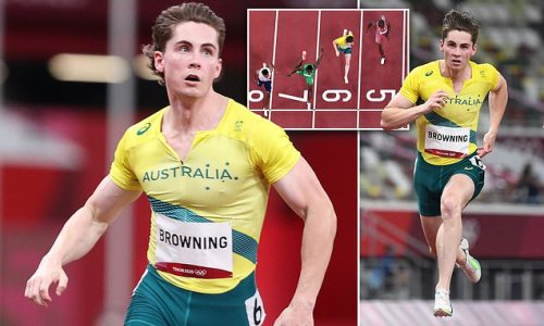 Rohan Browning narrowly misses out on a spot in 100m Olympic final