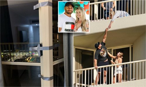 NRL families forced to tape balconies after quarantine rule breach