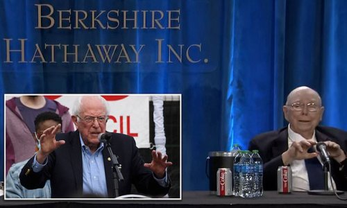 Charlie Munger says Sanders has 'won' fight against income inequality