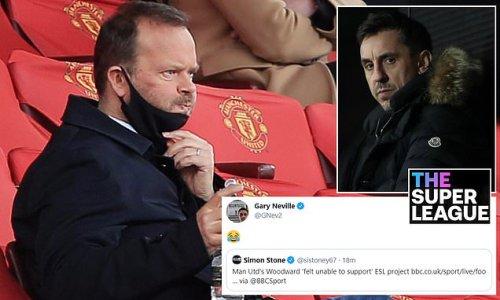 Gary Neville mocks Ed Woodward's Manchester United resignation