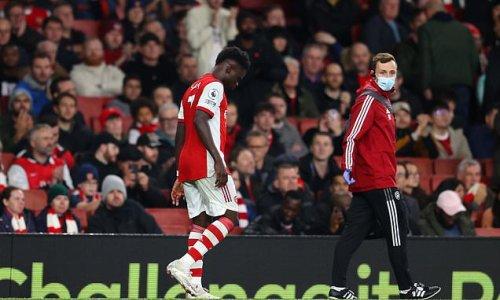 Arsenal to assess Bukayo Saka's fitness ahead of Aston Villa clash