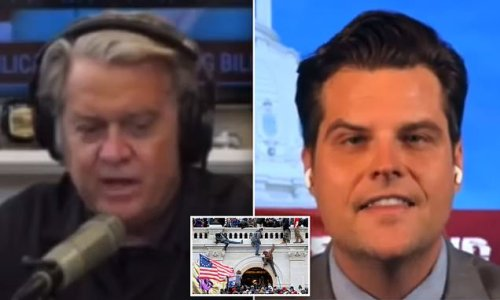 'This is all a set-up': Steve Bannon whines to Matt Gaetz