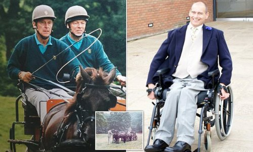 Prince Philip spent years supporting a young paralysed carriage rider