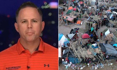 Cleanup organizer tells of distressing scenes in squalid Del Rio camp