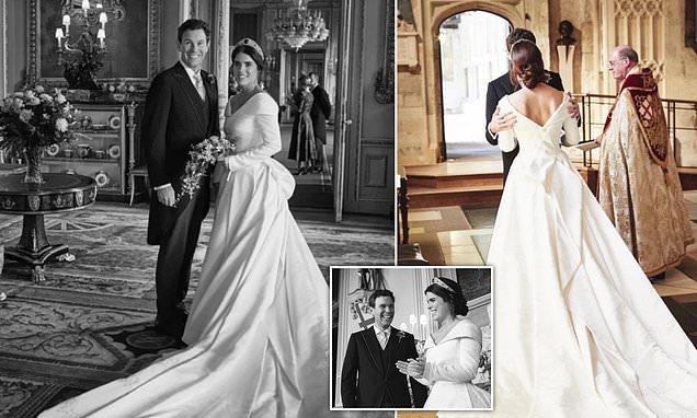 Princess Eugenie shares unseen wedding with Jack Brookbank