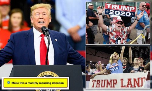 Donald Trump forced to pay back $64 million over 2020 donation 'scam'