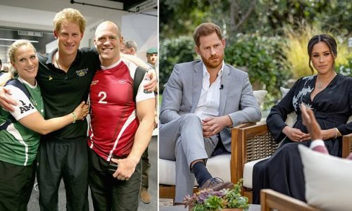 EDEN CONFIDENTIAL: Royal Family want to punch Harry, Mike Tindall says