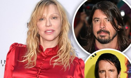 Courtney Love apologizes after rant about Dave Grohl and Trent Reznor