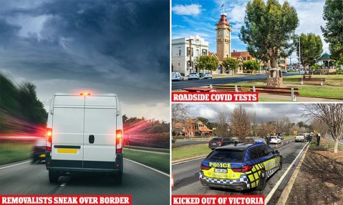 Sydney Removalists caught trying to sneak into Victoria