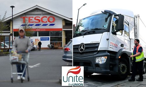 Workers at Tesco distribution centres REJECT 2.5% pay increase offer