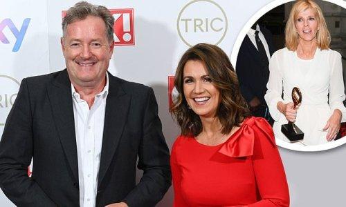 TRIC Awards 2021 WINNERS: Piers Morgan shares award with Susanna Reid