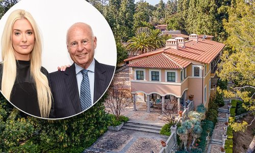Erika Jayne and Tom Girardi list their Pasadena mansion for $13million