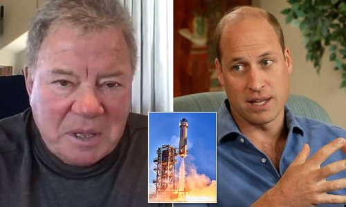 William Shatner says Prince William has 'wrong idea' on space race