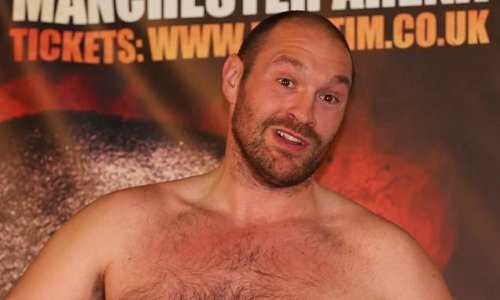 Fury shares photo of himself before remarkable weight transformation