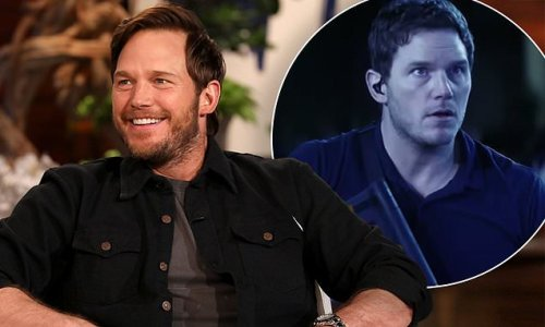 Chris Pratt expresses his gratitude for the troops on a Zoom call