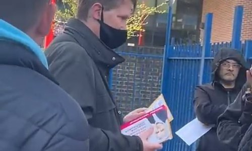 EXCLUSIVE: Labour is accused of breaking rules over station leaflets